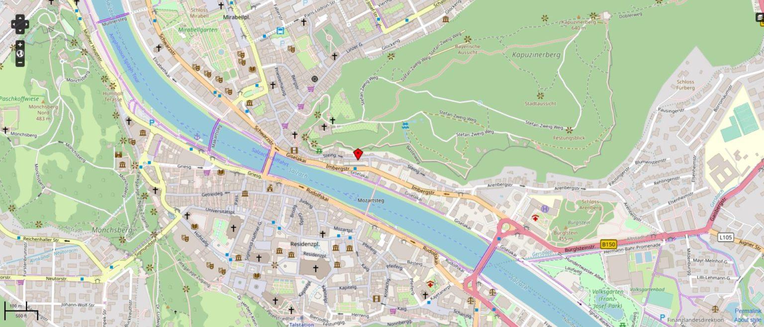 Maps Eurolawyer Salzburg